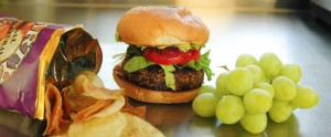 Black Bean Burger Special! Yummy!