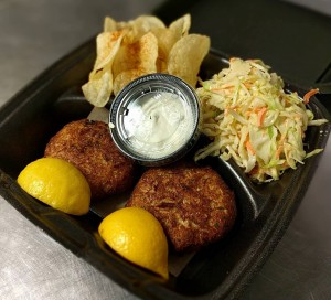 Double Crab Cake Platter
